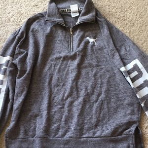 Grey Pink Pullover